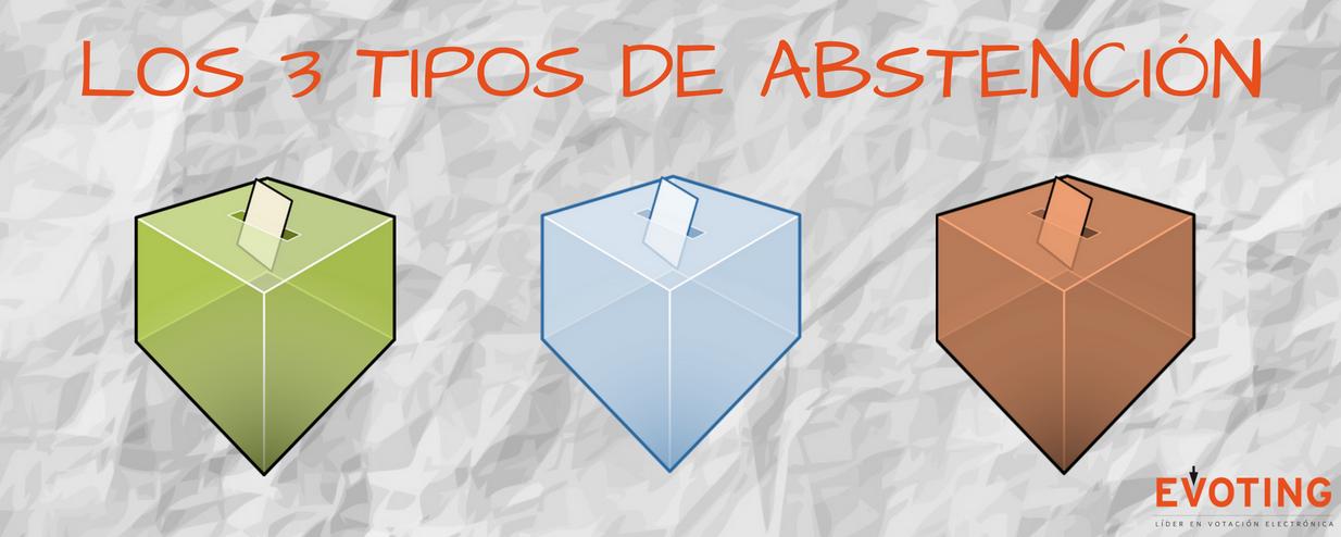 Los 3 tipos de abstención en las votaciones
