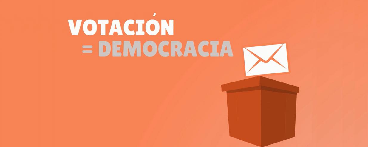 Votación es igual a Democracia - La importancia de alcanzar un alto nivel de participación en una votación EVoting