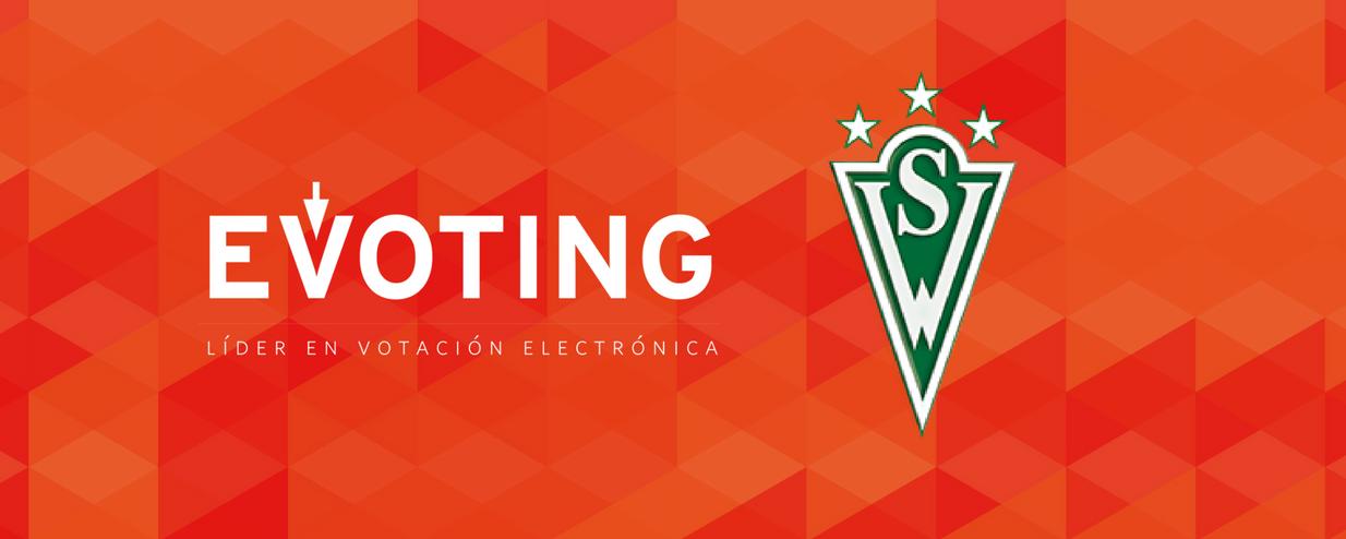 Santiago Wanderers elige su jugador del mes con voto electrónico de EVoting